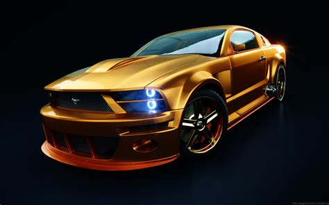 Car Wallpaper Mustang by Iwallpapers Ford Mustang Wallpapers