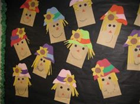 paper bag scarecrow craft for preschoolers 1000 images about fall on back to school