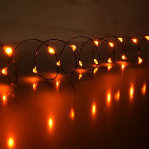mini string lights battery operated orange led mini battery operated string lights