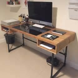 industrial computer desk 20 best ideas about industrial desk on