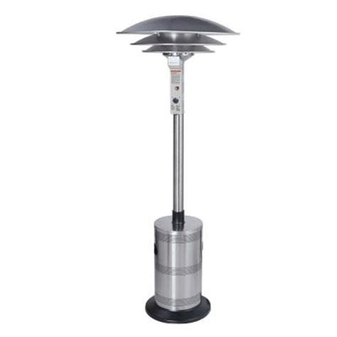 propane patio heaters home depot endless summer dome 40 000 btu stainless steel