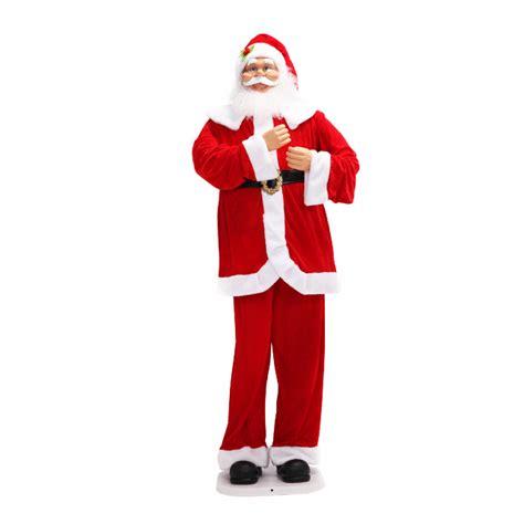 singing santa claus 1 88m singing santa claus sales