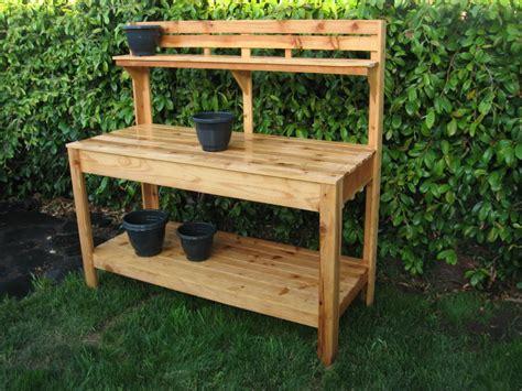 Gardening Workbench Simple Garden Work Bench Plans Plans Diy Free