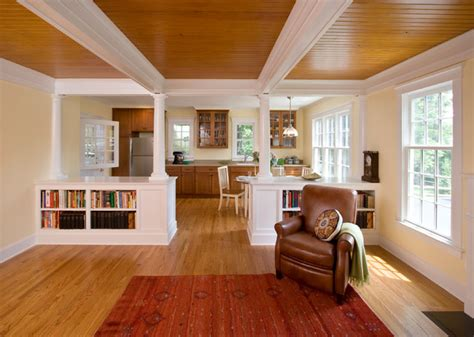 in suite homes in suite craftsman kitchen new york by clawson architects llc