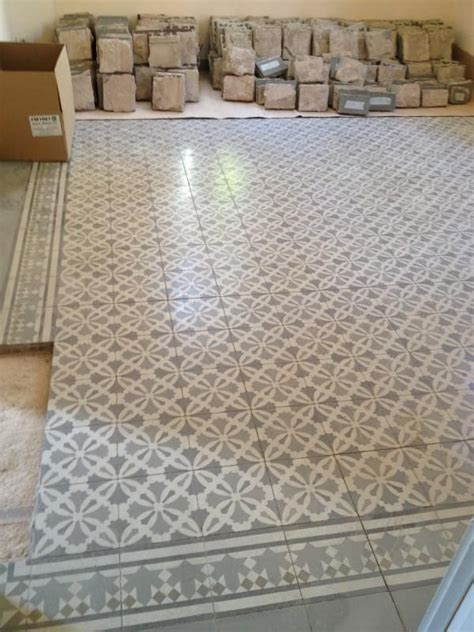carreaux ciment mosaique carreau et carrelage de ciment pose des carreaux de ciment