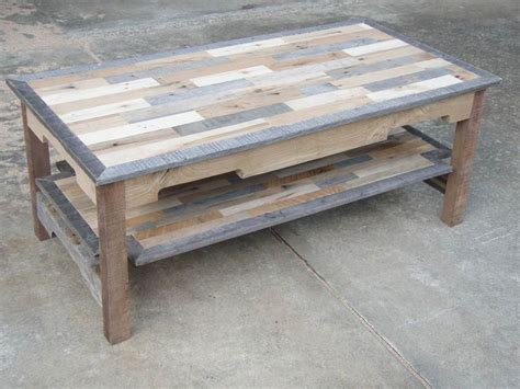 custom woodworking projects pallet wood coffee table series knotthead nate custom