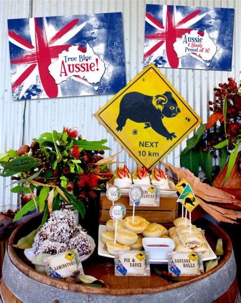 table ideas australia australian themed costume ideas home theme ideas