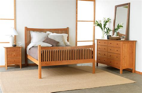 Shaker Bedroom Furniture Modern Shaker Bedroom Set American Made Solid Wood Furniture