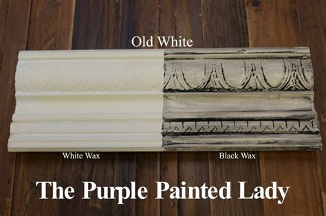 chalk paint white wax 17 best images about sloan black wax and white wax