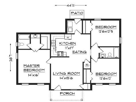 simple 3 bedroom house plans 3 bedroom house plans simple house plans small easy to build house plans coloredcarbon