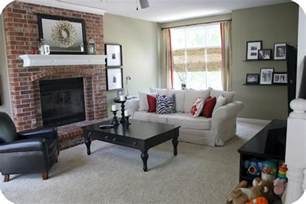 paint colors for living room with brick fireplace primitive paint colors with brick fireplace kitchen