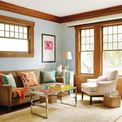 paint colors for living room with woodwork 20 blue living room design ideas