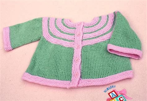 all in one knitted baby jacket two color baby jacket by rukodelnitsa craftsy
