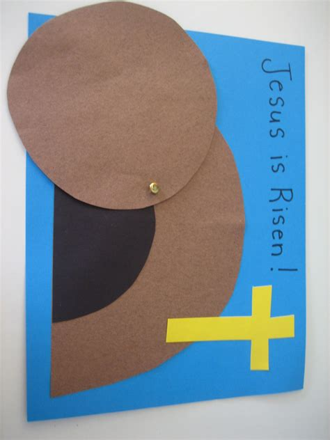 christian craft for 2 easy easter paper crafts happy home