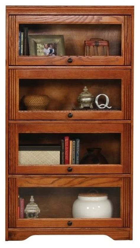 lawyer bookshelves oak ridge lawyers bookcase w 4 glass doors medium oak
