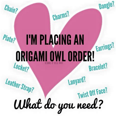 origami owl order 40 best o2 images on origami owl