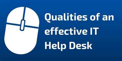 help desk specialist effective help desk specialist skills