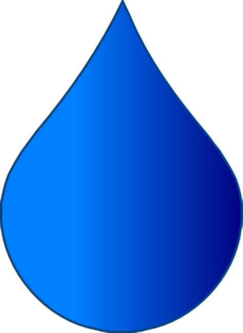 tear drop blue drop clip at clker vector clip