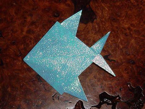 tropical fish origami tropical fish