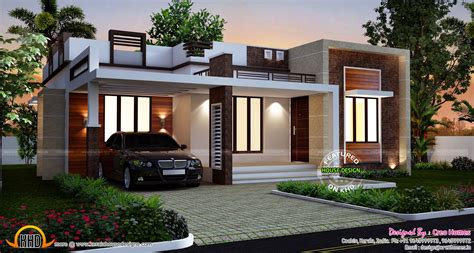 new homes plans designs homes design single story flat roof house plans