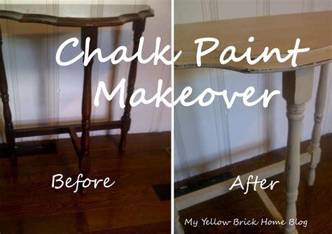 chalk paint images brick home chalk paint makeover