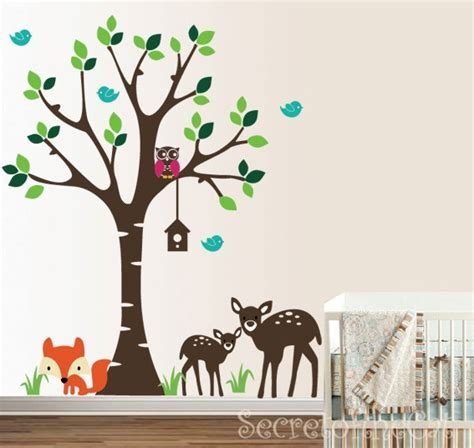 forest nursery wall decals forest nursery wall decal nursery