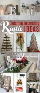 rustic tree decorating ideas rustic decorating ideas the creative