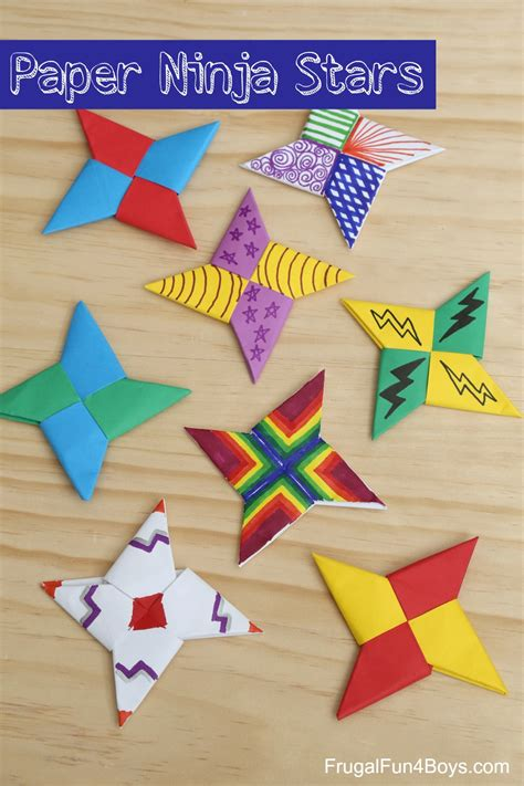 construction paper crafts for boys how to fold paper frugal for boys and