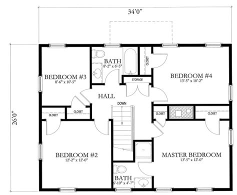 simple home plans free simple house blueprints with measurements and simple floor
