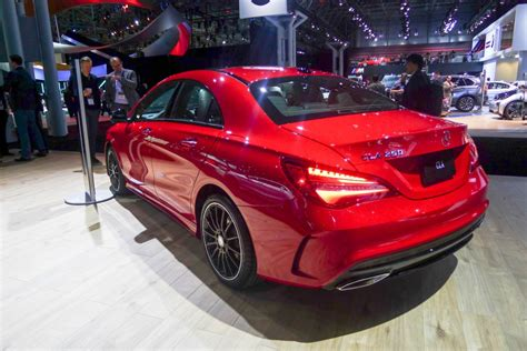 2017 Mercedes Cla250 by Image 2017 Mercedes Cla250 2016 New York Auto Show