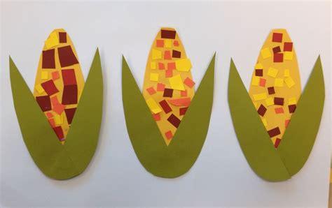 harvest craft ideas for harvest corn scissor practice craft craft and