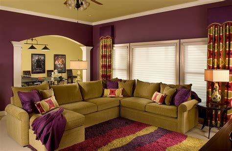 warm home interior and exterior paint ideas 680