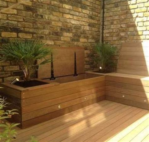 small garden storage ideas 19 diy outdoor bench and storage organization ideas diy