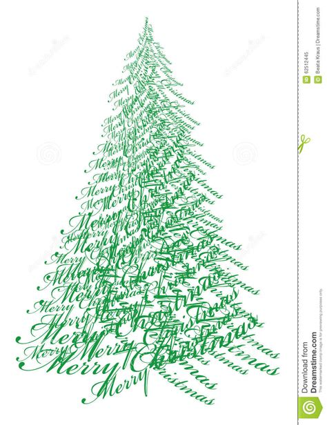 tree text tree with text vector stock vector image