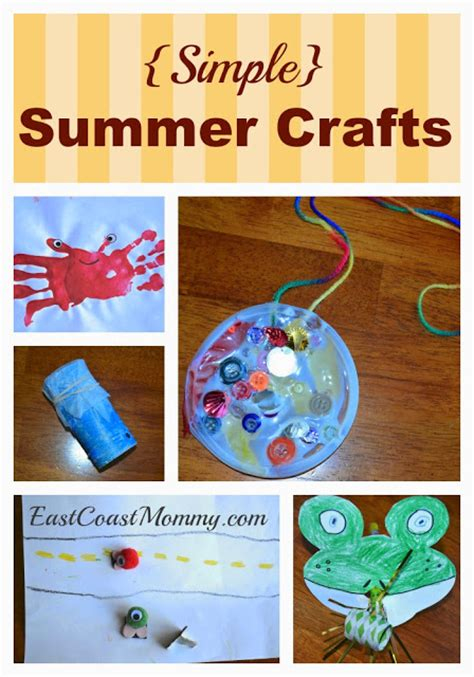 easy summer crafts for to make east coast 5 simple summer crafts