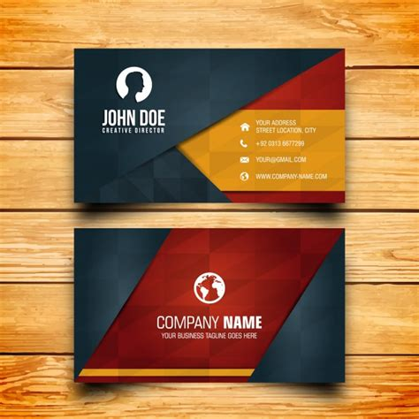 make business card business card design vector free
