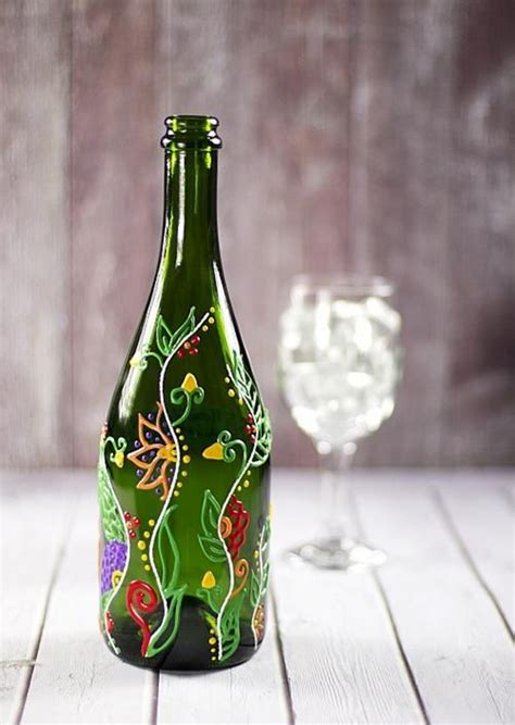 craft projects with wine bottles 40 amazing wine bottle ideas which are practically useful