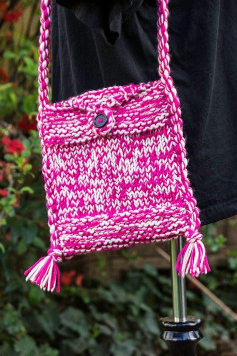 crochet knitting bag 25 best ideas about knit bag on knit