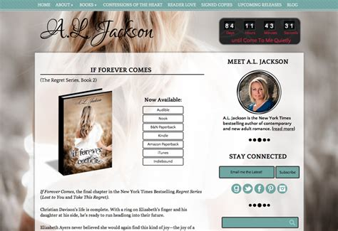 picture book websites beautiful author website design for a l jackson by