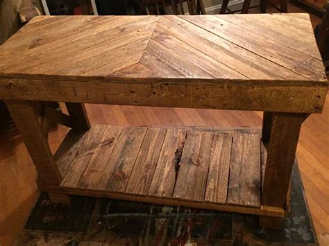 sofa table made from pallets pallet sofa table diy