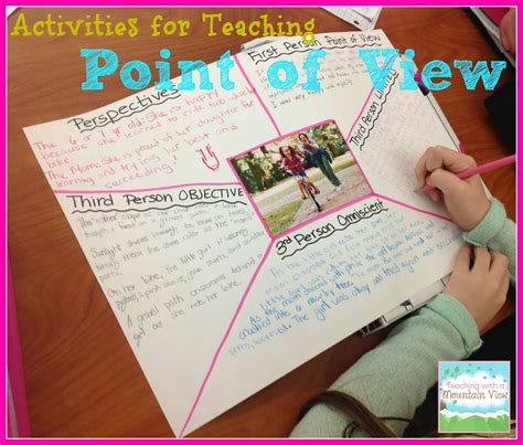 picture books to teach point of view teaching with a mountain view teaching point of view