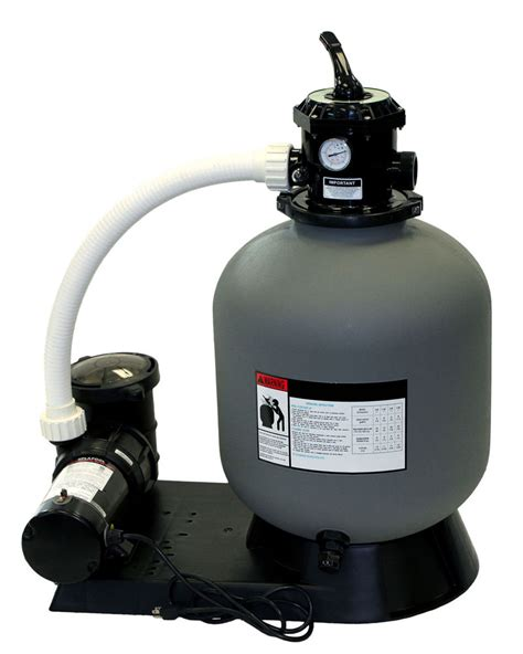 above ground pool and sand filter radiant 19 quot inch above ground swimming pool sand filter