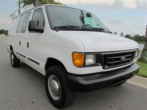 how do cars engines work 2005 ford e250 spare parts catalogs buy used 2005 ford e250 cargo van ladder racks work bins shelves bulkhead in