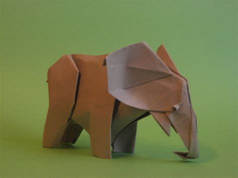 how to make a elephant origami origami elephant by h on deviantart