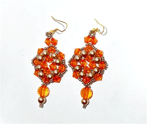 free beaded earring patterns earrings pattern magic