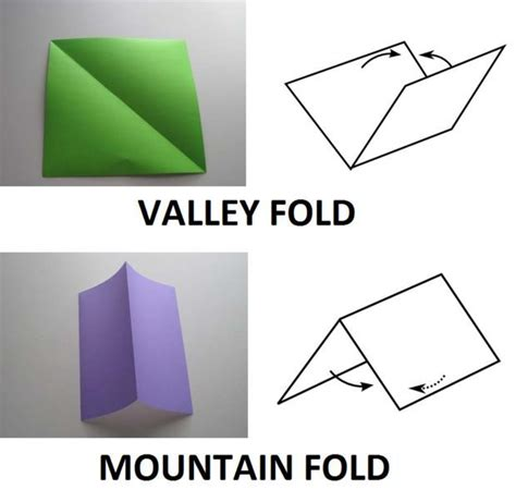 what is a mountain fold in origami 1000 images about pepakura on halo