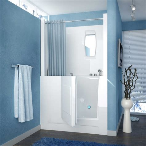 walk in shower bath combo walk in tubs and showers combo
