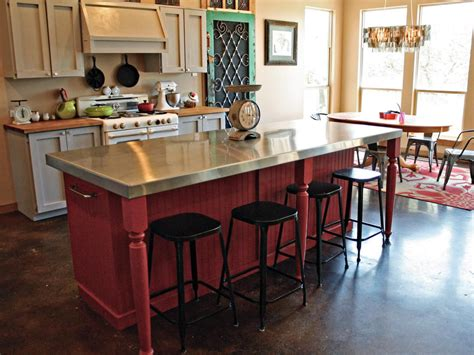 how to build a kitchen island with seating photo page hgtv
