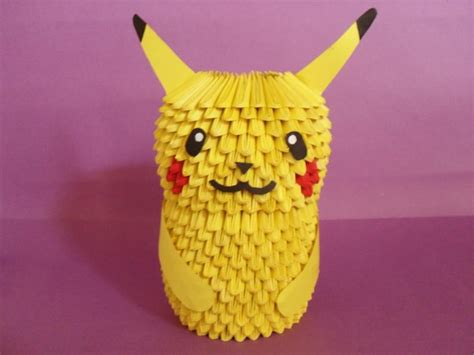 how to make a 3d origami pikachu pikachu album jimena 3d origami