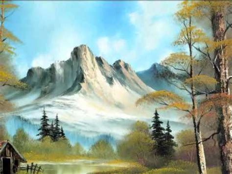 bob ross painting tutorial how to tutorial beautiful nature painting on canvas bob